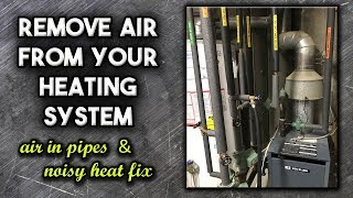 Remove Air from your Boiler and Heating System | How To