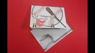 Video A Baseball Inspired Get Well Card with Gold Foiling download MP3, 3GP, MP4, WEBM, AVI, FLV Juli 2018