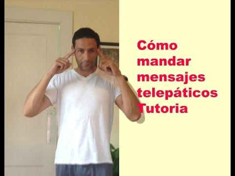 Cómo mandar mensajes telepáticos Tutoria