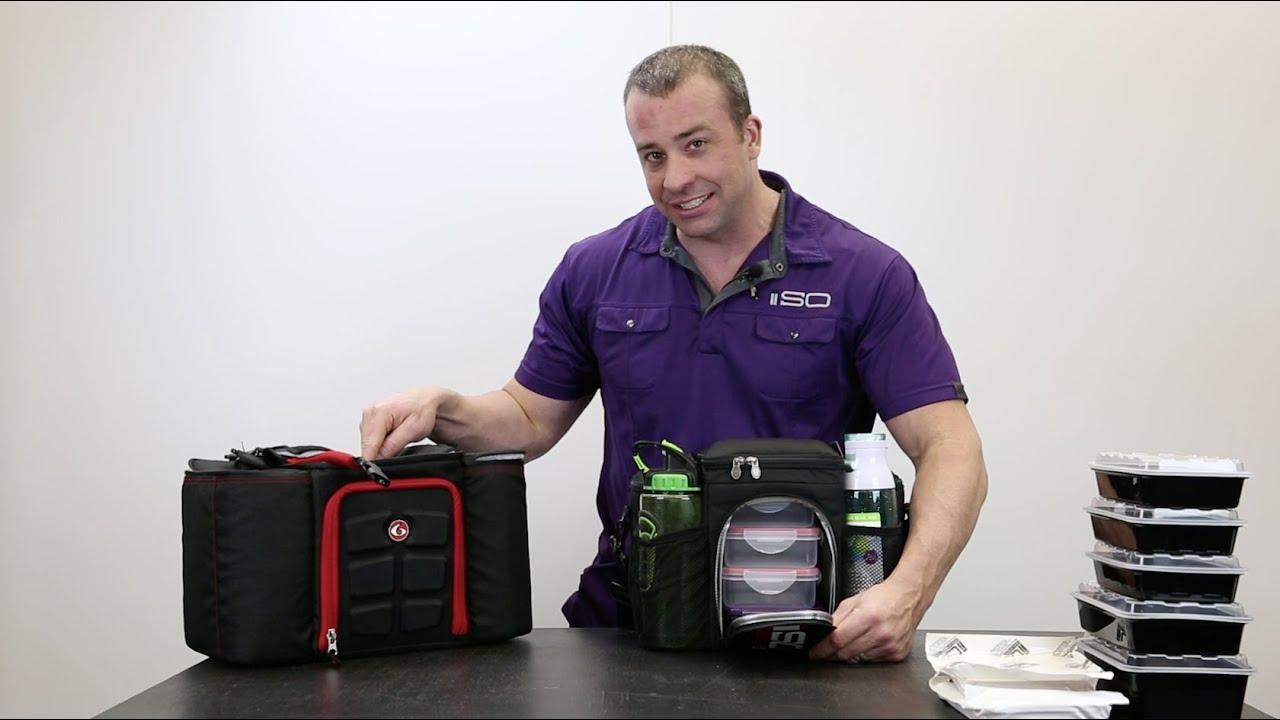 Isobag 3 Meal vs 6 Pack Bags Innovator 300. Isolator Fitness 407b2012daa7f
