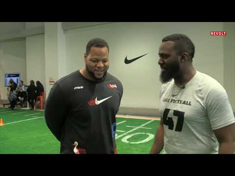 A look inside a mock NFL combine w/ Ndamukong Suh | Kaz + Effect (Full Episode)
