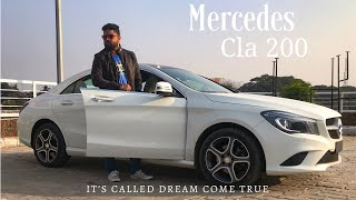 MEET MY NEW MERCEDES CLA 200 | MERCEDES CLA 200