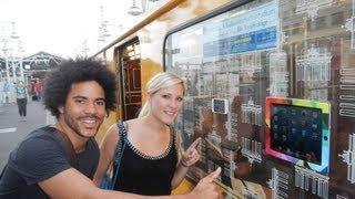 iPhone 5 und iPad 4 KLEBEN an Berliner S-Bahn!