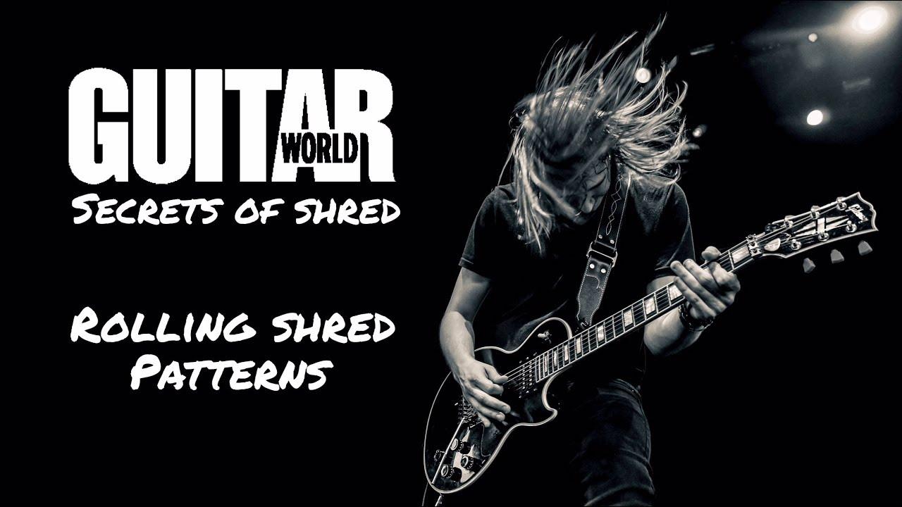 Sammy Boller - Rolling Shred Patterns - Guitar World Lesson