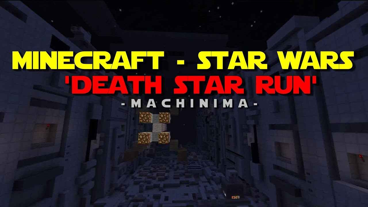 Minecraft - Star Wars - Death Star Run.