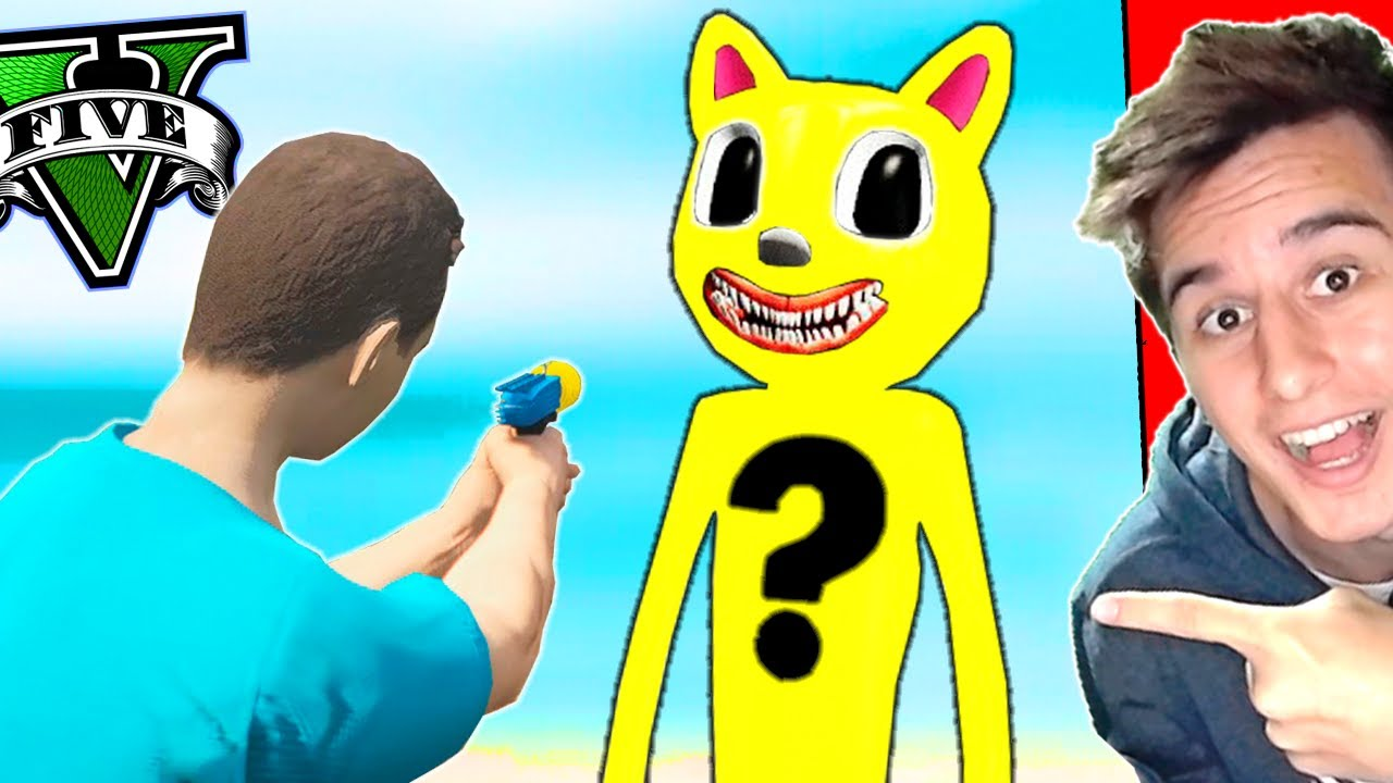 ABRINDO os CARTOON CAT da SORTE no GTA 5 ! ( GTA V Mods )