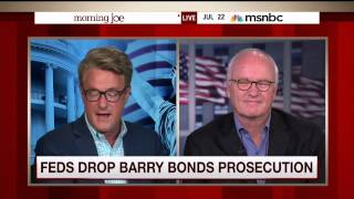 Mike Barnicle on Barry Bonds not getting into the Baseball Hall of Fame anytime soon (22 July 2015)