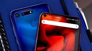 Loch im Display statt Notch: Honor View 20 Hands-On! - felixba