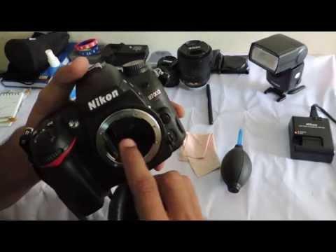 How to clean DSLR camera, sensor and lens