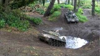 1:6 scale American Tank Tour of Ardwell