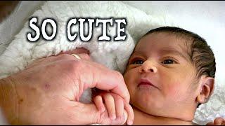 ADORABLE NEWBORN BABY (1st Visit) | Dr. Paul