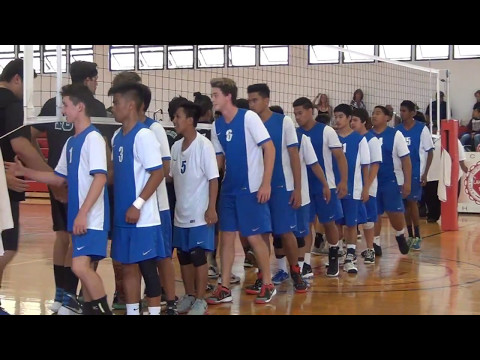 MAUI HIGH BOYS VOLLEYBALL VS KING KEKAULIKE 2017 MIL SEMIFINALS