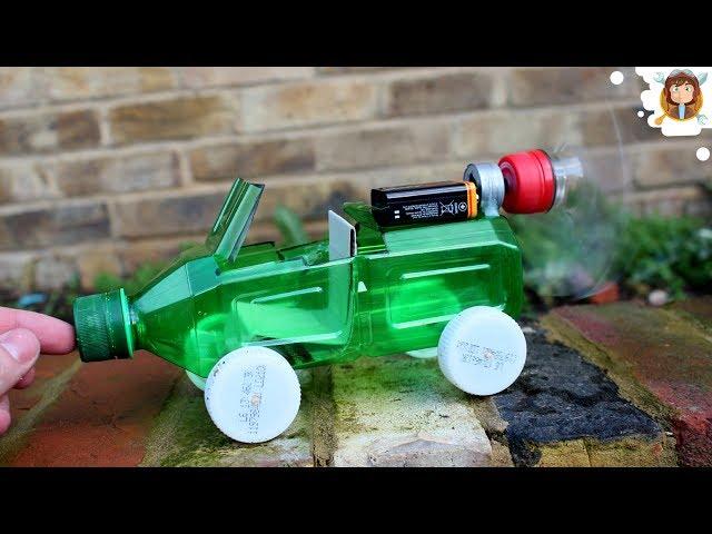 Su Şişesinden Araba Yapımı