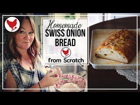 Making Bread By Hand - Swiss Onion Bread   A Good Life Farm