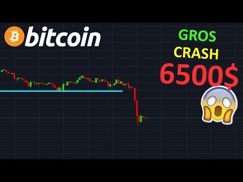 BITCOIN LE GROS CRASH COMMENCE  !? btc analyse technique crypto monnaie