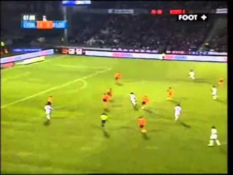Gol de Fred pelo Lyon da França