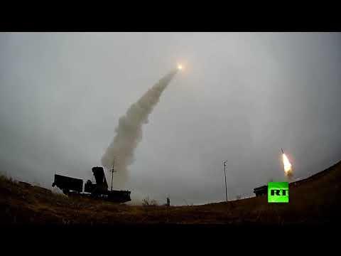 منظومة إس 400 تطلق صواريخها أثناء تدريبات في روسيا  - نشر قبل 9 ساعة