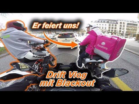 Motorradfahren gemeinsam mit Izzi?! - MERCH IST DA - Drift Dual Vlog mit Blackout