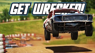 Wreckfest: Get Wrecked! (Career Playthrough Part 1)
