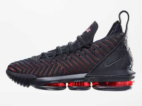 """992d115b64d5 Nike LeBron 16 """"Fresh Bred"""" - YouTube"""