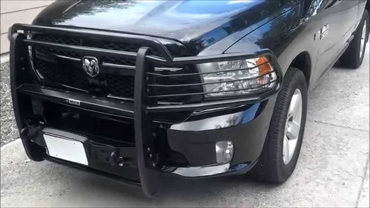 Westin Sportsman Winch Mount Grille Guard: Revisited - YouTube