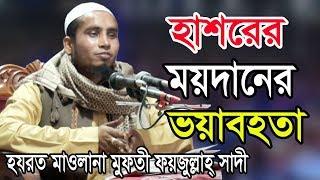 হাশরের ময়দানের ভযাবহতা | Mufti Foyzullah Sadi | মুফতি ফয়জুল্লাহ সাদী | Bangla Waz