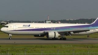 Ana (All Nippon Airways) Boeing 767-381 Ja8322 In Toyama Airport (Toy/Rjnt)