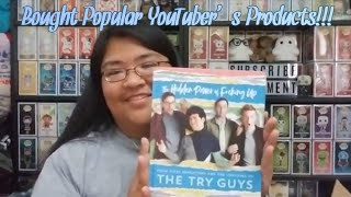 Opening Products Created By The Try Guys and Simply Nailogical