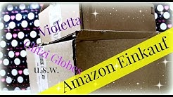 Amazon Einkauf Januar 2016 | Shopping Haul Video | Violetta, Glitzi Globes u.v.m. | 9999 Dinge