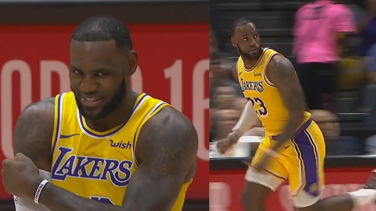 f06b1e9f557 LeBron James Shocks Lakers Crowd in Debut with Rajon Rondo