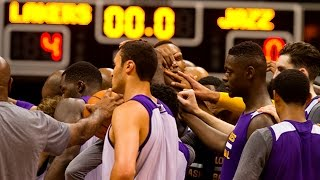 Los Angeles Lakers open training camp in Hawaii