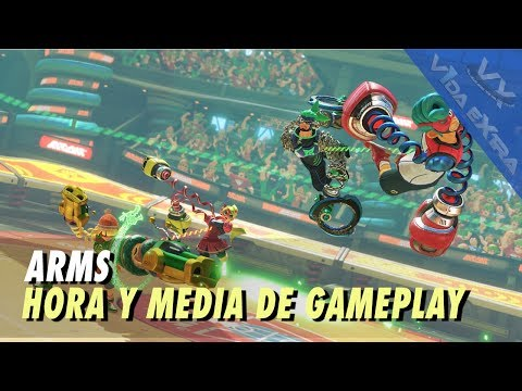 ARMS - Hora y media de gameplay