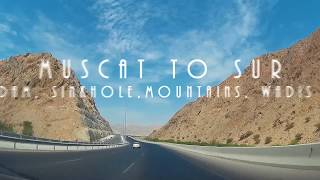 Muscat to Sur road trip