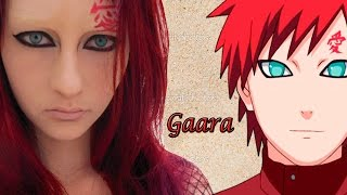 Maquiagem Sabaku no Gaara - Anime Naruto