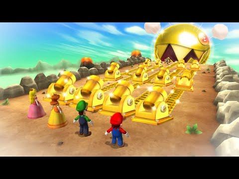 Mario Party 9 Boss Rush - Mario Vs Peach Vs Luigi Vs Daisy (Master Cpu)