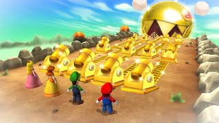Mario Party 9 Boss Rush - Mario Vs Peach Vs Luigi Vs Daisy (Master Cpu)