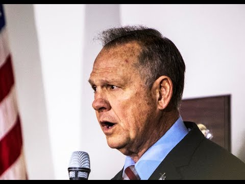 Roy Moore Upset Socialists And Gays Won't Respect Pedo Values