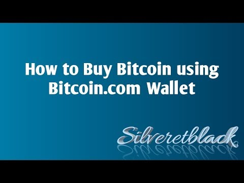 How To Buy Bitcoin Using Bitcoin.com Wallet