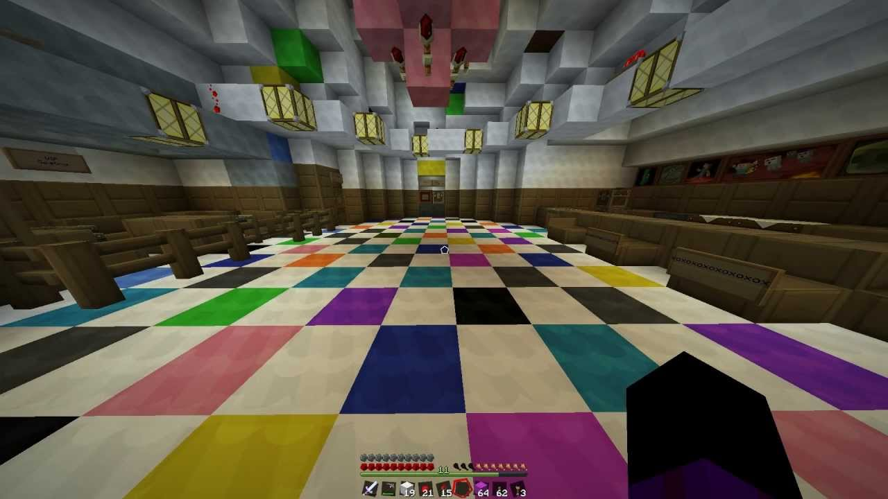 How To Build A Club In Minecraft
