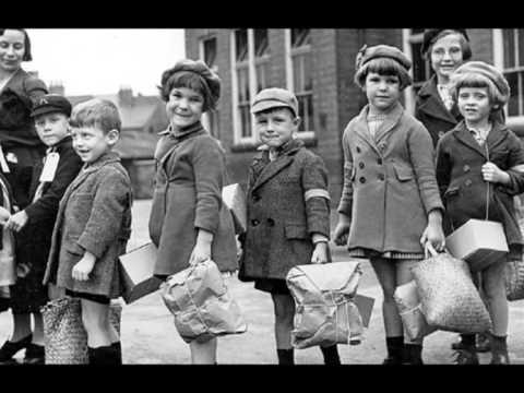 Evacuation of children during the World War II