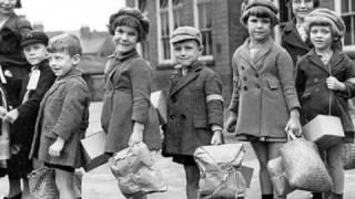 Evacuation of children during the World War II
