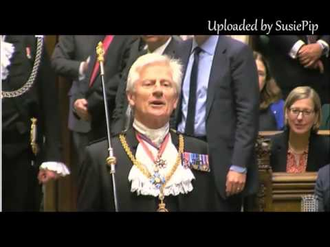 Dennis Skinner 21.06.2017 Quip to Blackrod. State Opening of Parliament