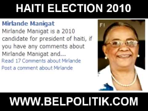 Haiti Elections 2010 - Meet The Candidates