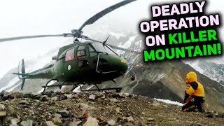 How Pak Army DRAMATIC Action Saved a Stranded Climber on Nanga Parbat