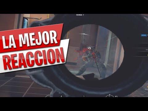 LA MEJOR REACCIÓN / RAINBOW SIX SIEGE / CLIP MOMENT #5