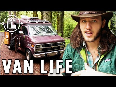 Awesome Van Converted Into Off-Grid Home for only $5,500  (including purchase price)