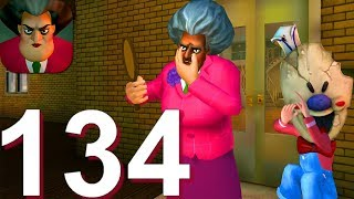 Scary Teacher 3D - Gameplay Walkthrough Part 134 Valentines Special New Levels (Android,iOS)