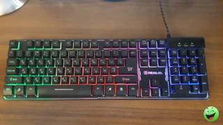 обзор на клавиатуру real el 8700 gaming backlit black