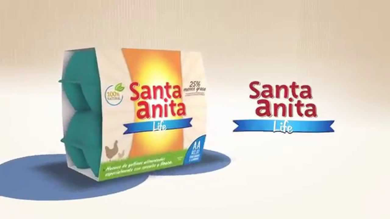 Línea de Huevos Santa Anita Life - YouTube