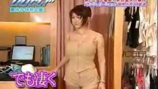 Mika Kano 叶美香 巨乳 Sexy Lingerie changing.
